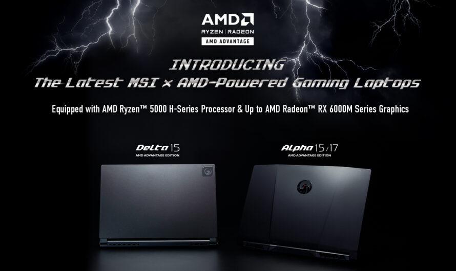 MSI Reveals New All-AMD Gaming Laptops — GeekTyrant